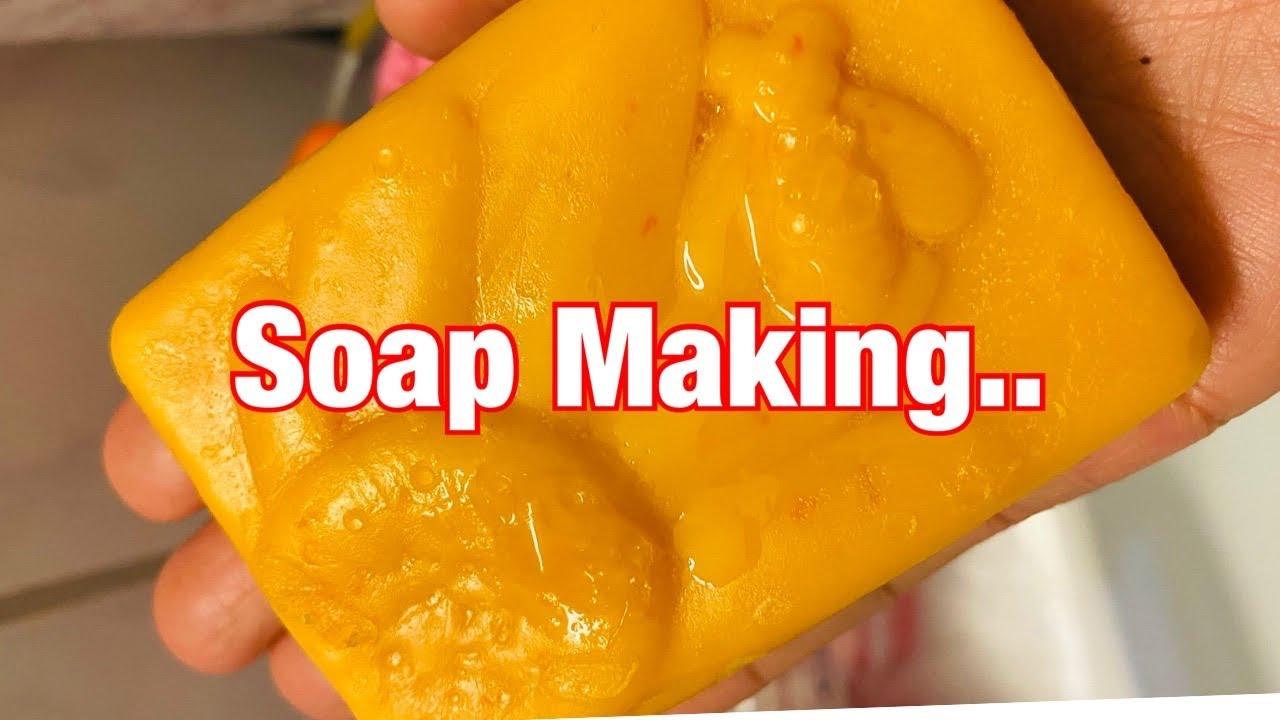 HOMEMADE SOAP   SOAP TEST   Jean Braun Swiss Life Vlog #shorts