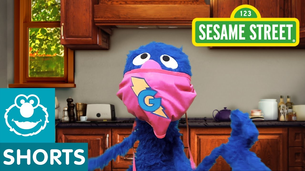 Sesame Street: Healthy Habits with Grover PSA   #CaringForEachOther