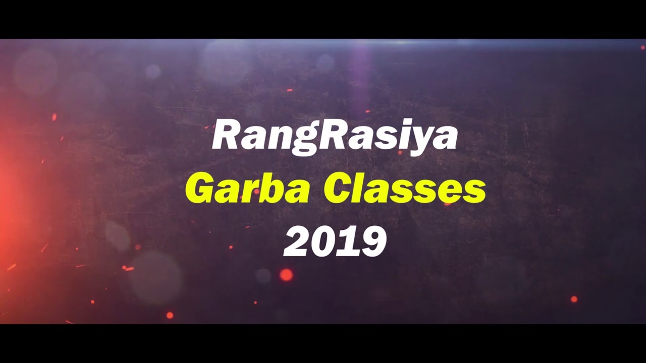 || Navratri Special || RangRasiya Garba classes || 2019 || Danza Feet Studio || Umbergaon ||
