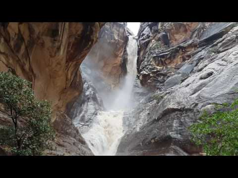 (Expletive) Flash Flood!!! Red Rock Canyon Ice Box Trail