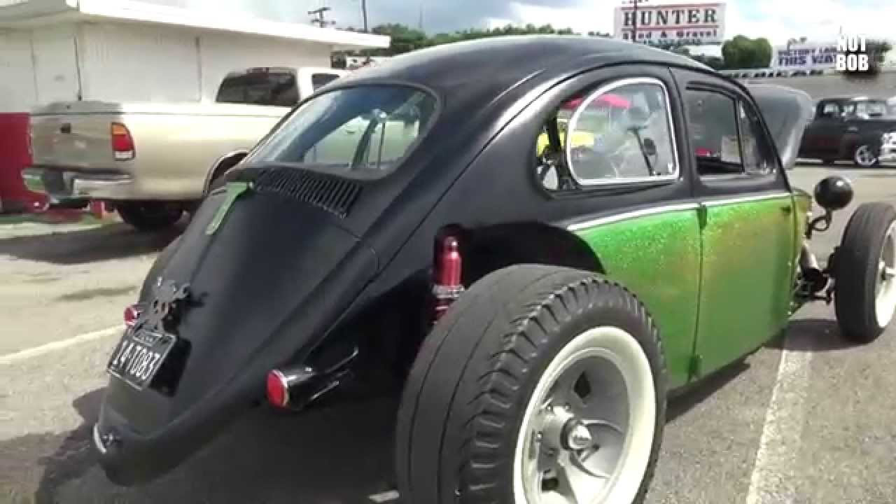 Front Engine Vw Beetle Hot Rod Rat Rod Youtube