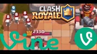 Vines de Clash Royale l Parte 1 l The Best Vines Clash Royale l Los Mejores Vines de CR