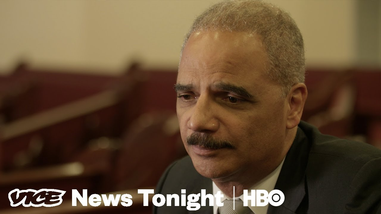 Eric Holder Is On A Mission To Make You Care About Gerrymandering (HBO)