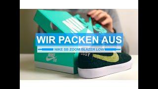 Download Stussy X Nike Sb Blazer Low Video Sosoclip Com