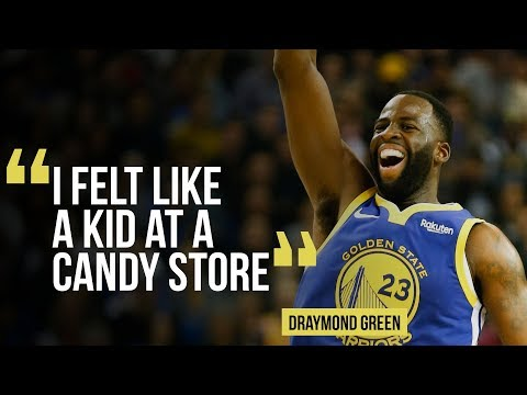 Warriors' Draymond Green On Getting Back On The Court In Win Versus Timberwolves