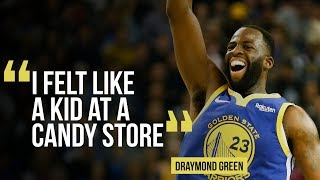 Golden State Warriors power forward Draymond Green on getting back ...