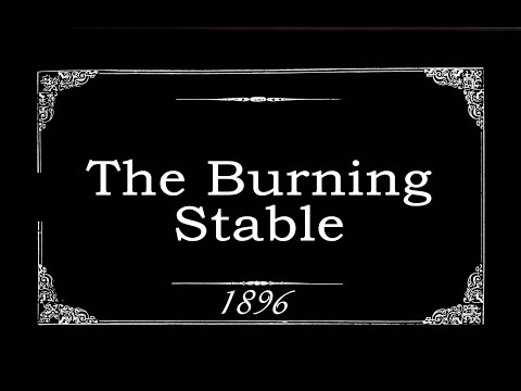 The Burning Stable (1896)