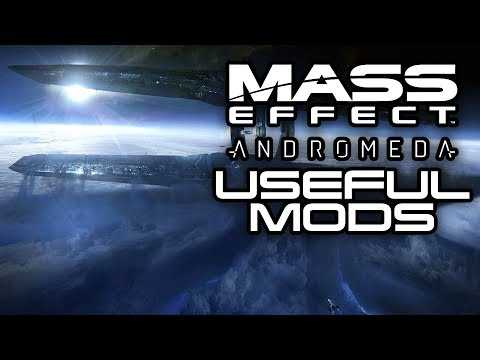 MASS EFFECT ANDROMEDA: Top 5 BEST Quality of Life Mods! (Mass Effect Andromeda Mods)