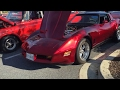 1980 Chevrolet Corvette Stingray at the Burtonsville, Maryland Car Show