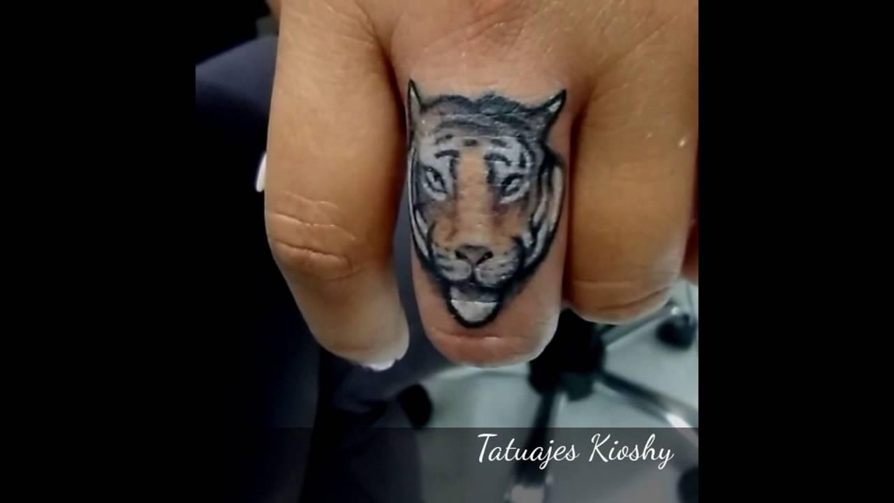 Tatuaje En El Dedo Peru Tatuajes Kioshy Lima Huaral Youtube