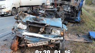 Новая подборка аварии и ДТП от 'Дорожные войны' за 20. 01. 16 Видео №4...+18