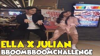 Ella Cruz and Julian Trono Bboom Bboom Challenge!