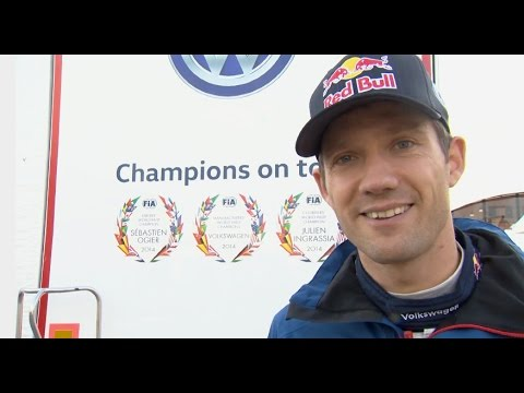 Sébastien Ogier Interview - Rallye de Grande-Bretagne #GOgier