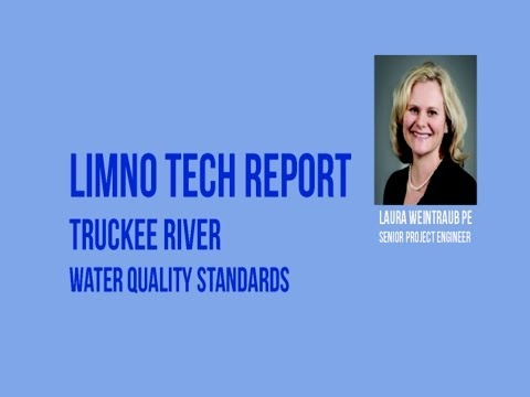 Laura Weintraub Presentation on Truckee River Water Quality Standards