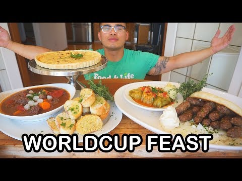 How to cook a WORLDCUP FEAST