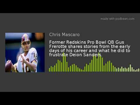 Former Redskins Pro Bowl QB Gus Frerotte shares stories from the early days of his career and what h