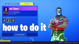 So I UNLOCKED the Rainbow Skull Trooper in Fortnite by doing this...