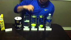 Density Investigation - Do golf balls float?