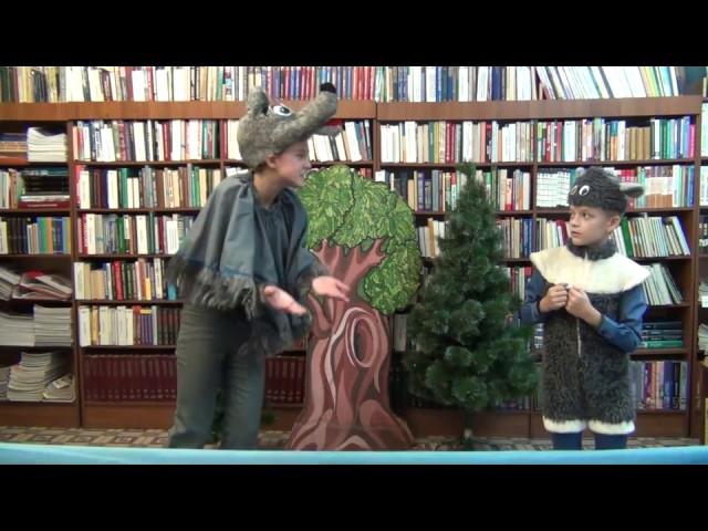 Изображение предпросмотра прочтения – «Читатели» читает произведение «Волк и Ягнёнок» И.А.Крылова