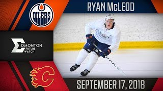 Ryan McLeod | Two Assists vs Calgary | Sep. 17, 2018