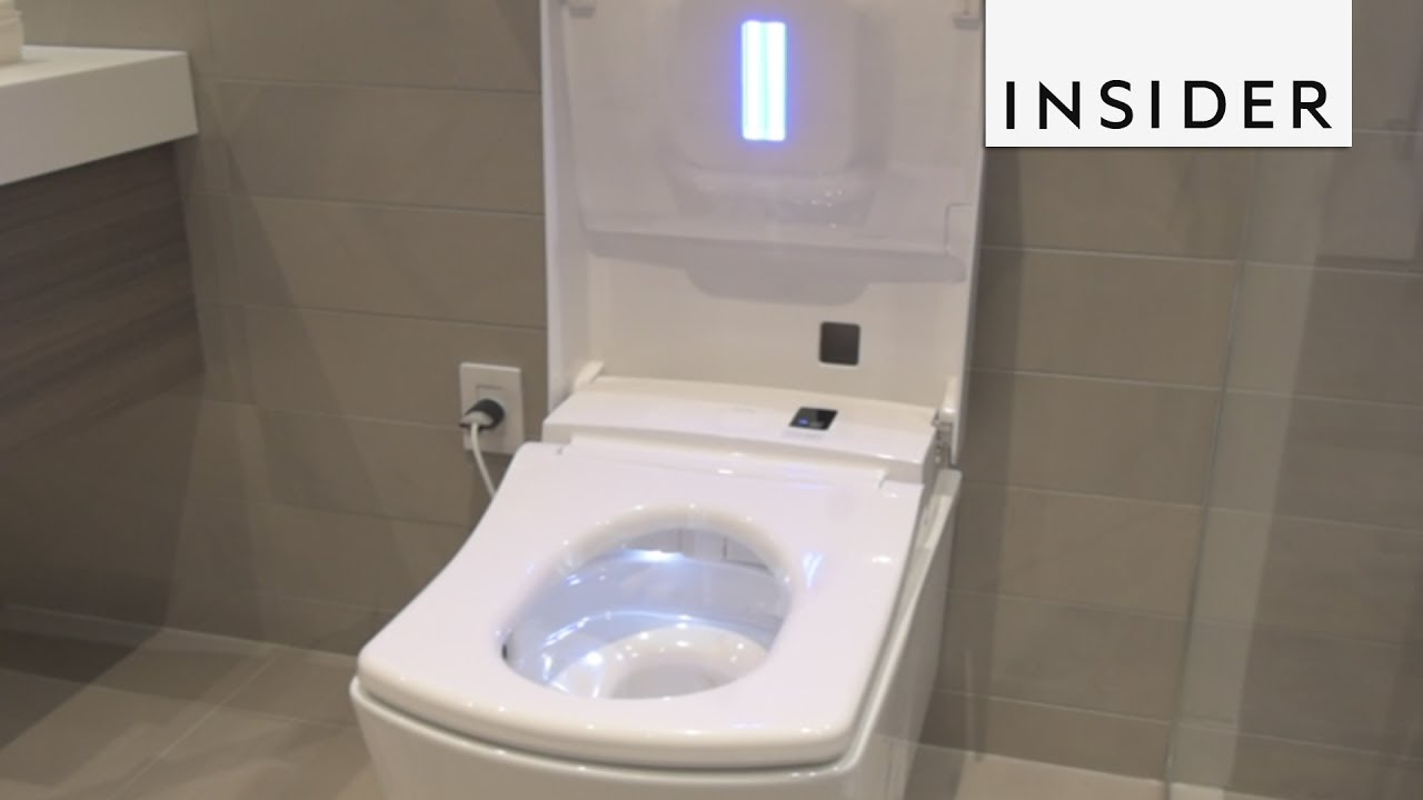 Meet The Lamborghinis Of Toilets - YouTube