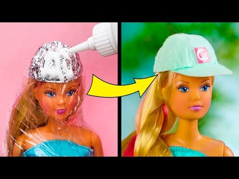20 COOL DIYS FOR BARBIE