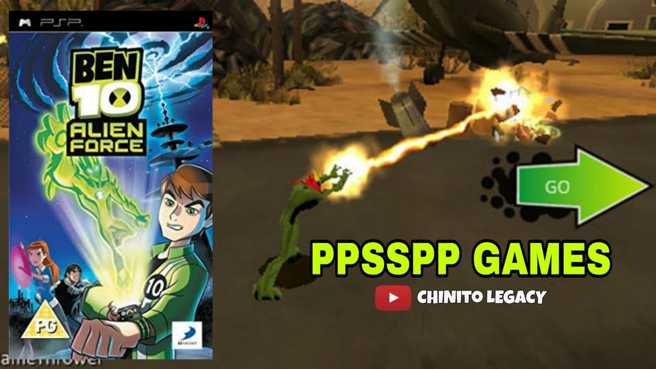 Ben 10 Alien Force - PPSSPP Games | WITH DOWNLOAD LINK