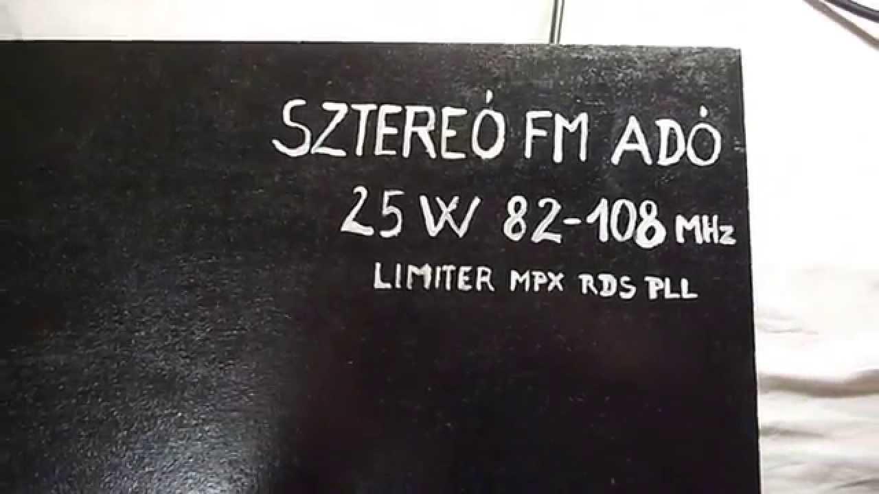 Rds Fm Transmitter Youtube Ba1404 Stereo Encoder