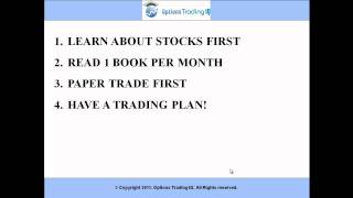Options Trading For Beginners - 6 Tips for Getting Started Today