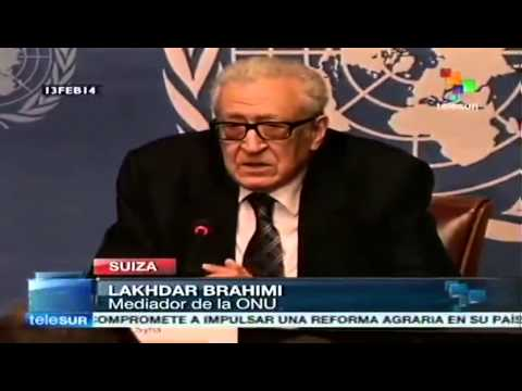 Lakhdar Brahimi: Meeting with Russia and US very helpful