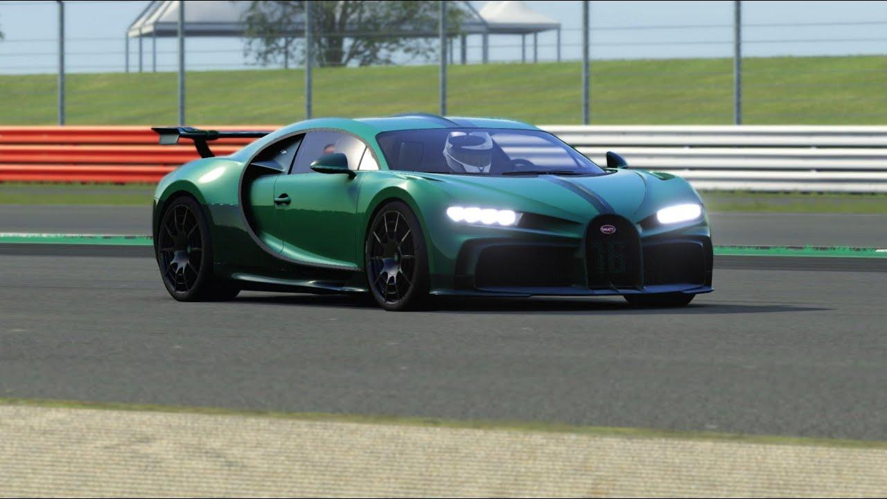 Bugatti Chiron Pur Sport Top Gear Testing