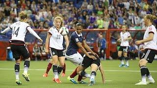 Féminines, Coupe du Monde 2015 : France - Allemagne (1-1, 4 tab 5, buts), le résumé