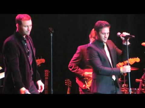 Eric Martsolf and Casey Moss sing at the DAYS OF OUR LIVES Anniversary Gala