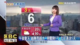 氣象時間 1100306 早安氣象 東森新聞 @東森新聞 CH51