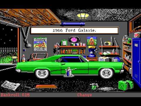 Street Rod 2 (PC/DOS) 1990, California Dreams