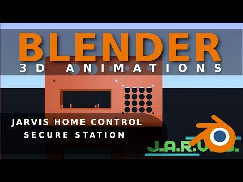Jarvis Home Control & Automation System -  Sicherheitsstation 4K