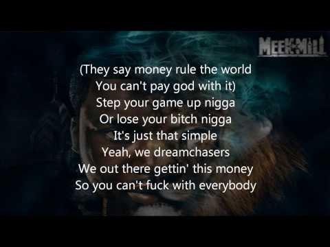 Meek Mill - I'm Leanin' [LYRICS] ft. Travis Scott, Birdman, & Diddy (Dreamchasers 3)