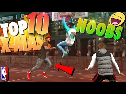 NBA 2K17 TOP 10 Brown Shirt CHRISTMAS NOOB Plays Of The Week!