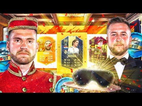 Wer muss 1 TAG DIENER SEIN ?? BLIND DRAFT BATTLE mit FETTFINGER-AKTION .. FIFA 19