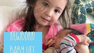 Baby Vlog 1: NEWBORN BABY LIFE