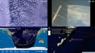 Morning Asian Coastlines - NASA/ESA ISS LIVE Space Station With Map - 491 - 2019-02-18