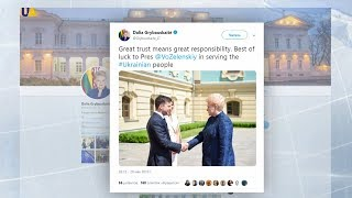 Вітання новому Президентові надходять з усього світу