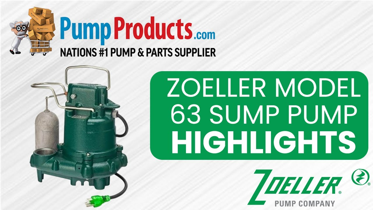 Zoeller Model 63 Sump Pump Product Highlight Youtube Submersible Wiring Diagram