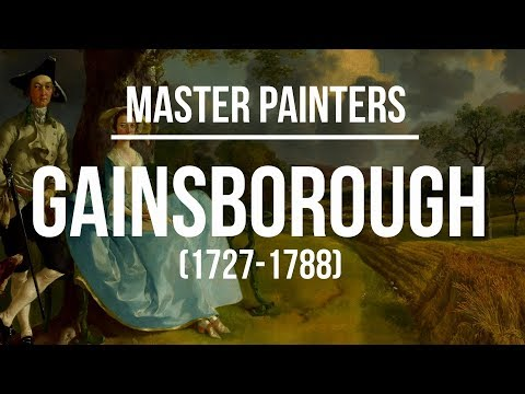 Thomas Gainsborough (1727-1788) A collection of paintings 4K Ultra HD