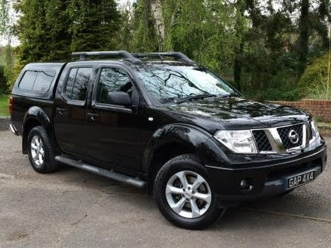 2007 Nissan Navara Aventura 2 5 dCi Manual in Black with Snugtop Cab Hi