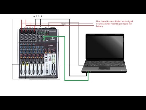 Multitrack recording with Behringer XENYX 1204 USB