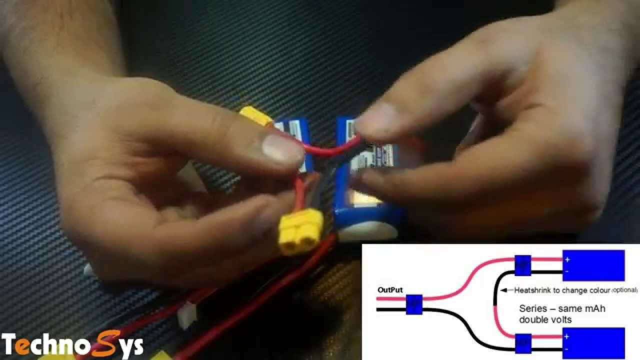 Lipo Battery Connections In Parallel Series Youtube To Wire 6 Volt Batteries On Wiring Diagrams