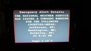 Emergency Alert System - Tornado Warning #2