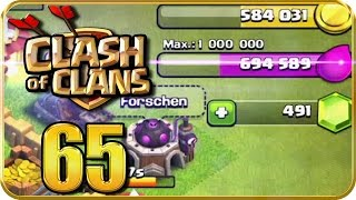 Let's Play CLASH of CLANS Part 65: Ziel: 1 Mio Elixier farmen!