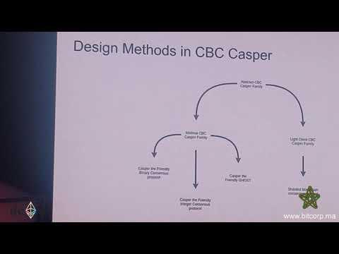 Vlad Zamfir from Ethereum Foundation about CBC Casper Design Philosophy  – DEVCON IV
